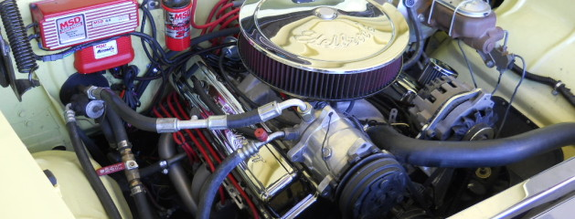 1955 Chevrolet Belair Fuel injection conversion